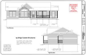Modular Home Front Elevations